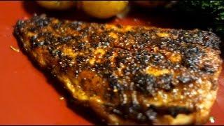 Blackened Redfish & Roasted Gold Potatoes! ► Queendeefitness