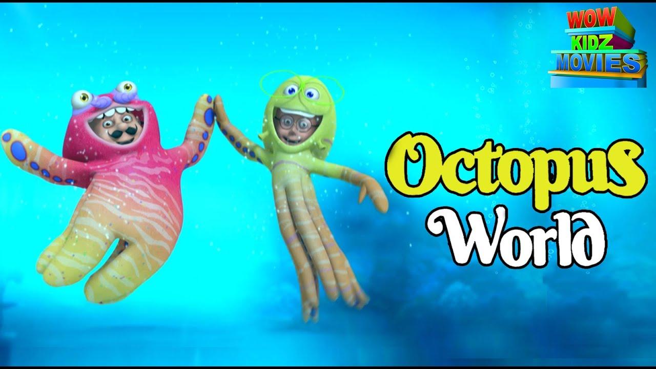 Motu Patlu in Octopus World   Full Movie   Wow Kidz