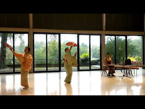 Japanese Classical Music and 2 Dancers, Moon Viewing Party Cheekwood Nashville, TN