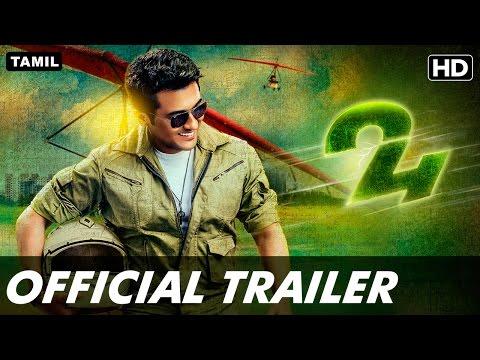 24 Official Tamil Trailer | Suriya, Samantha, Nitya Menen
