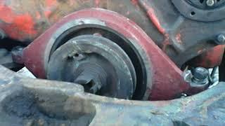 Фото отчет по установке двигателя СМД на ЮМЗ