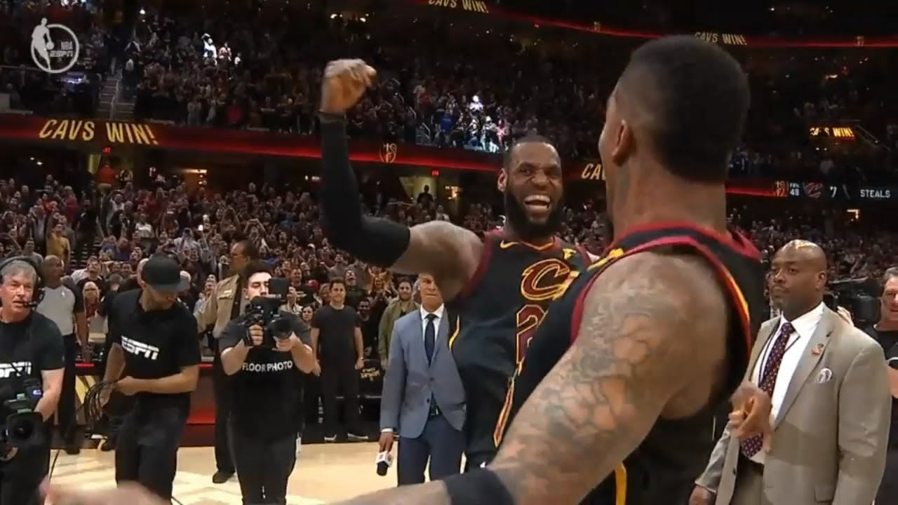 a8d5d495501a LeBron James Hits Ridiculous Game Winner To Beat Raptors! - YouTube