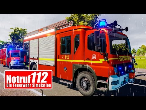 NOTRUF 112: Feuerwehr Hamburg im Einsatz! Live Q&A I Feuerwehr-Simulation