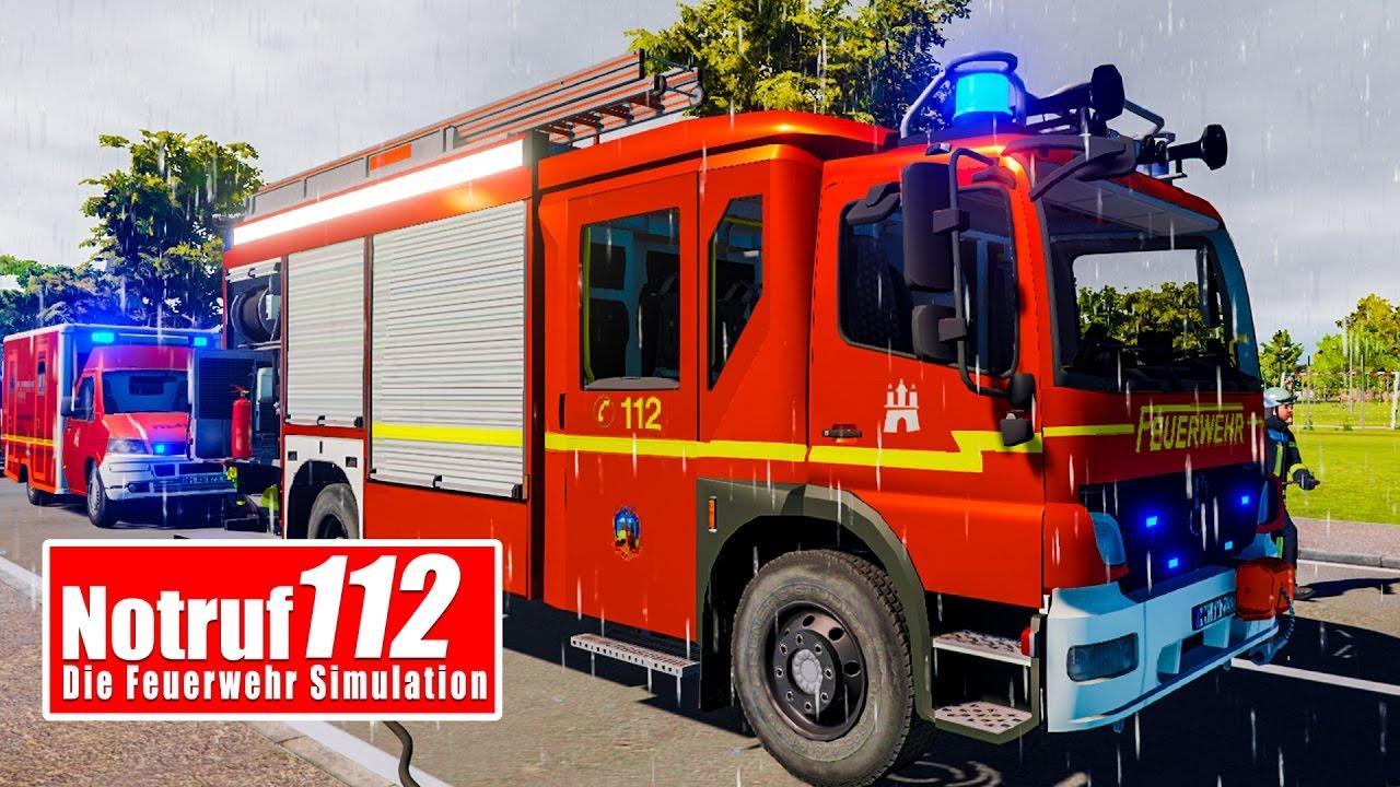 112 Feuerwehr Im Einsatz