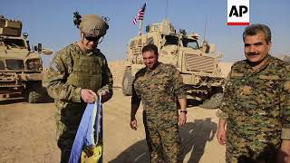 US commander backs Kurdish fighters at Syria outpost