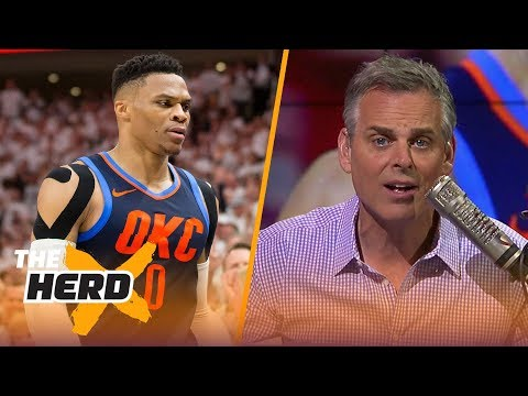 Colin on OKC's Game 4 loss to the Jazz, Houston's 50-point third quarter vs Minnesota | THE HERD
