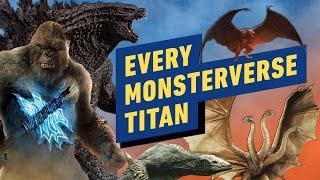 The Godzilla vs. Kong MonsterVerse: Every Major Titan