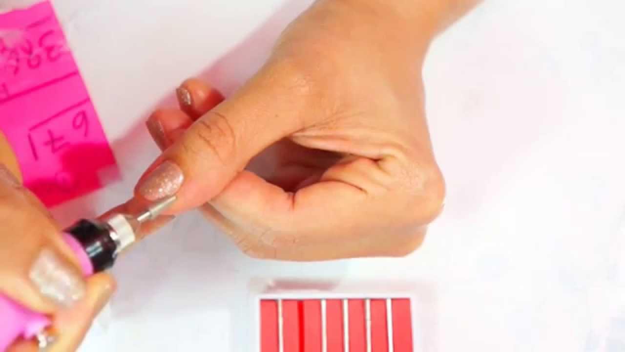 tirar as cutículas fácil com a caneta de manicure - YouTube