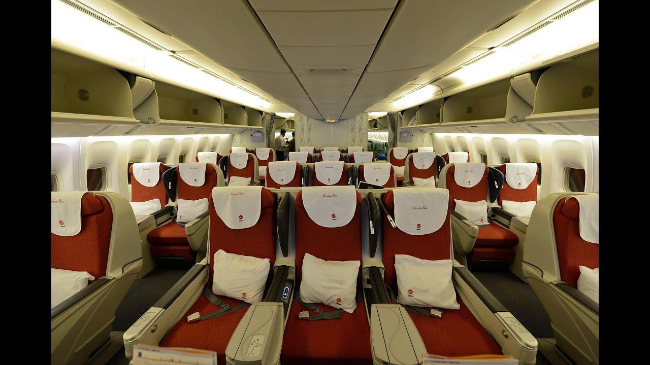 Biman Bangladesh DC-10 / B777-300/ER Maslin Executive Class