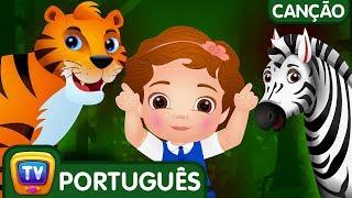 Vamos Todos À Floresta Canção | Canções De Ninar Populares Para Crianças Pela Chuchu Tv