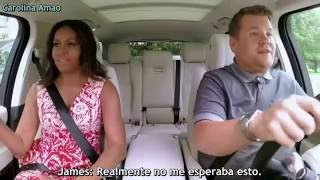 First Lady Michelle Obama Carpool Karaoke [Sub Español] - Parte 1