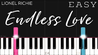 Lionel Richie - Endless Love ft. Diana Ross | EASY Piano Tutorial