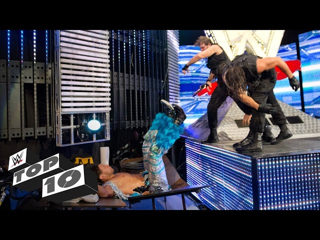 Finishing Moves on the Stage: WWE Top 10