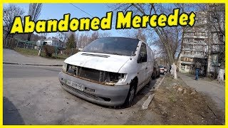 Abandoned Cars Found 2018. Abandoned Mercedes-Benz Vito Found. Abandoned GAZ-M-20 Victory