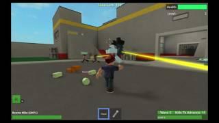 Roblox Xbox One Gameplay Episode 10 Zombie Rush