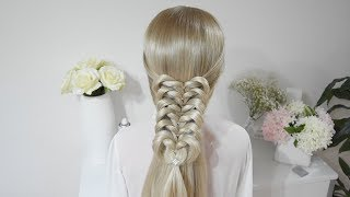 Easy Knotted Braid Hairstyles | Argentea Lo