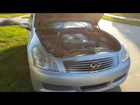 Infinity G35 How to fix AC air conditioning
