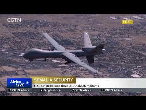 U.S. air strike kills 3 Al-Shabaab militants