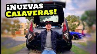 ¡NUEVAS CALAVERAS LED AL 350z! │ManuelRivera11