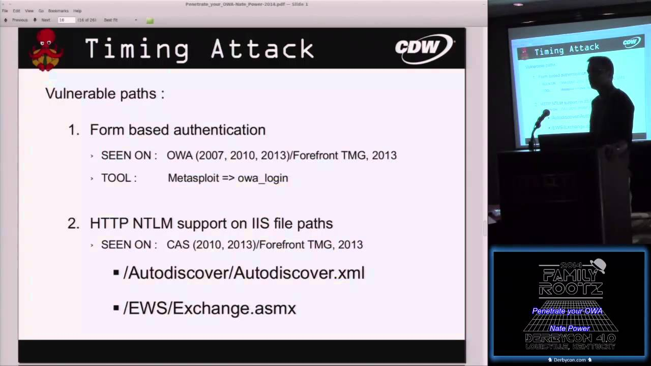 Penetrate your OWA - Nate Power Derbycon 2014 (Hacking