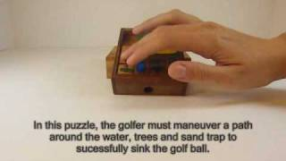 Golf Field wooden Puzzle - All about