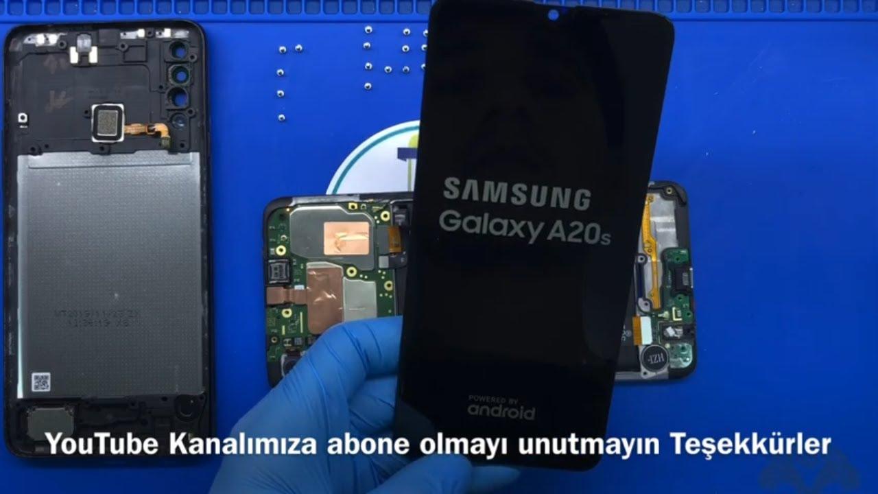 Samsung Galaxy A20S Ekran Ön Camı Değişimi I Samsung A205 I
