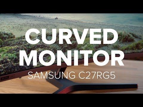 Der Curved-Gaming-Monitor Samsung C27RG5 im Test | deutsch