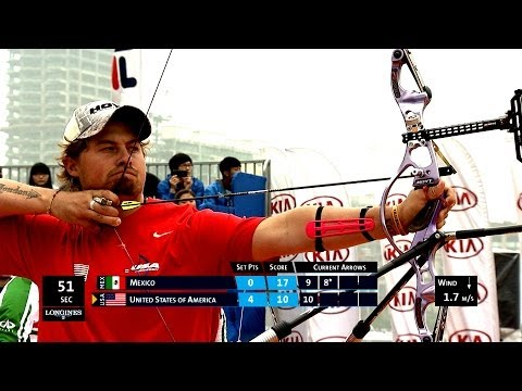 Recurve Mixed Team Gold - Stage 1 : SHANGHAI - Archery World Cup 2014