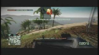 Battlefield BC 2 Fun Tactics- Red Nose