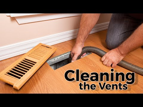 Cleaning the Vents