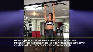 FUNDAMENTOS DEL CRECIMIENTO MUSCULAR (Entrenamiento de abdomen por Sonia Isaza)