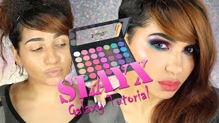 Slaying the SlayX Palette Galaxy Style- First Upload of the 2018 - I TALK?!