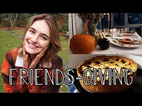 Thanksgiving in NYC | Friendsgiving, Holidays, Turkey, & Healthy Food | Sanne Vloet