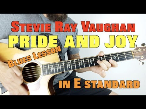 Pride and Joy Acoustic Lesson by Stevie Ray Vaughan