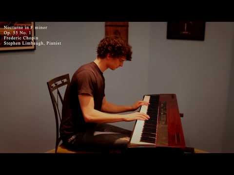 Chopin - Nocturne in F Minor, Op.55, No. 1