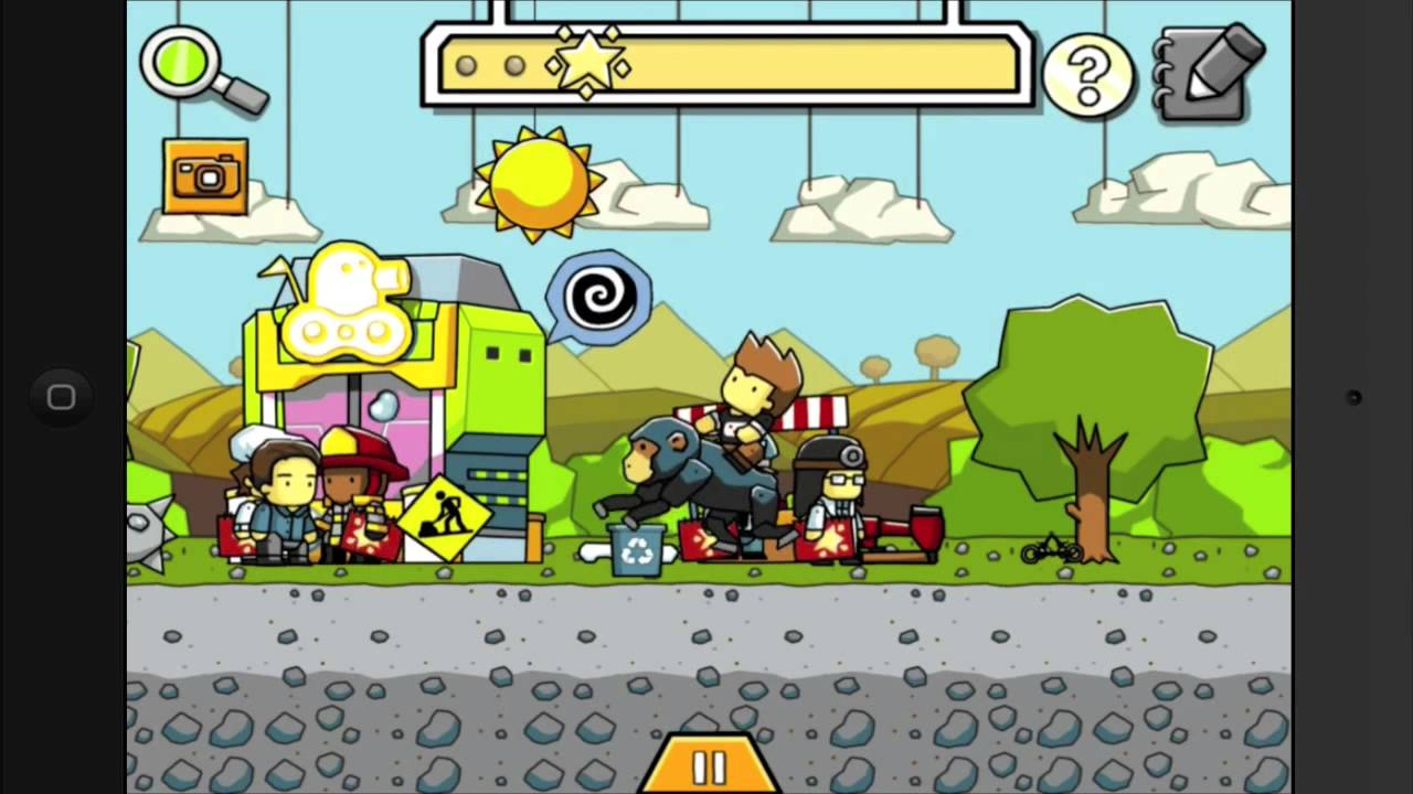 Scribblenauts Remix - All Easter Eggs and Achievements [HD]