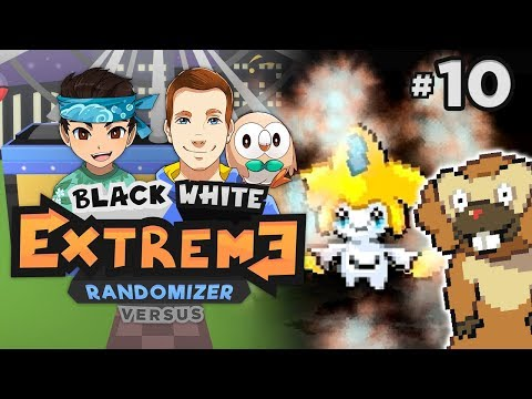 THAT DIDN'T HAPPEN - Pokémon Black & White EXTREME Randomizer Nuzlocke Versus w/ Supra! Episode 10