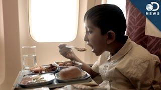 Why Food Tastes Worse On Planes