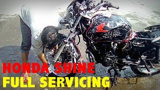 Honda Shine | Full Servicing