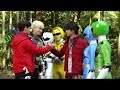 Power Rangers Dino Force Brave- Animal Force Handoff (English Subs)