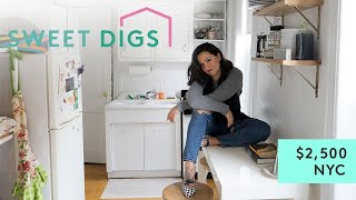 What $2,500 Will Get You In NYC   Sweet Digs Home Tour   Refinery29 by : Refinery29