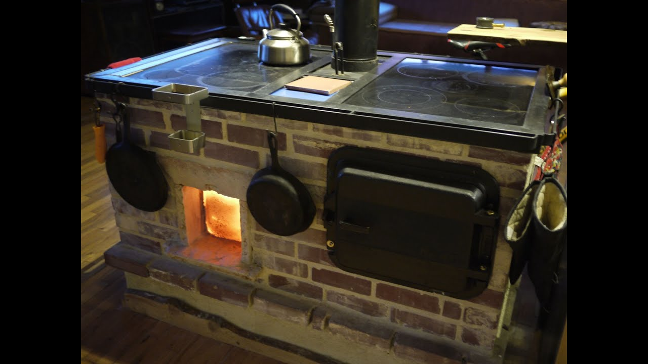 Walker Wood Fired Masonry Cookstove And Oven Introduction