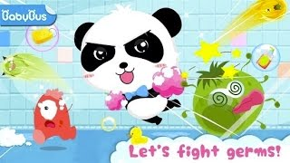 Baby Panda's Bath Time - Play Toys In the Shower & Bathroom - BabyBus Kids Games