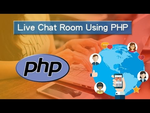 Live Chat Room Using PHP | Simple Tutorial | Live Demo