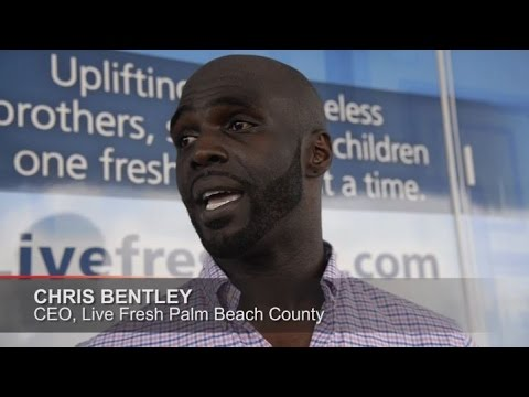 Palm Beach County offers mobile showers to homeless