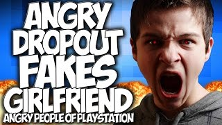 """COD AW: ANGRY DROPOUT FAKES GIRLFRIEND!! ANGRY PEOPLE OF PLAYSTATION #2 """"GUN GAME TROLLING"""""""