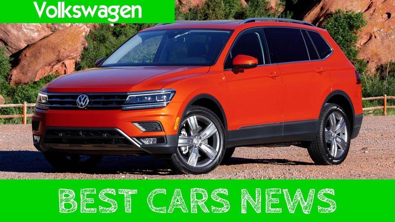 2018 Volkswagen Tiguan More Interior Space Than Most Compact