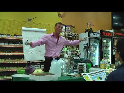 RawFood Lecture by Thierry SuperLight