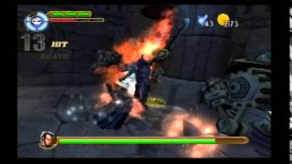 Maximo Vs. Army Of Zin Walkthrough (PS2) level 14: The Great Vault!! (Mastered)