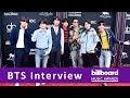 BTS TALKS MUSIC & NEW SONG   BILLBOARD MUSIC AWARDS